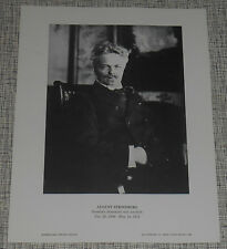 August Strindberg - Dramatist - 1968  International Portrait Gallery Photo Print