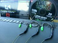 "3X KORDA KAPTOR BLOWBACK RIGS ""THE GRIPPA RIG"" WITH DARK MATTER BRAID 15/20LB"