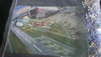 Air Display Jigsaw - Vintage Planes; 300 Pieces Complete. Unboxed - VGC + Poster