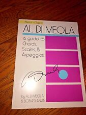 "Al Di Meola ""Guide to Chords/Scales/Arps"" Master Class Method Book_Autographed"
