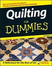 Quilting for Dummies by Cheryl Fall (2006, Paperback...