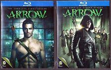 ARROW Season 1 & 2 - Blu-ray TV Shows First Second BRAND NEW
