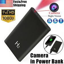 1080P Mini DVR Hidden Spy Camera Power Bank Night Vision Video Recorder 5000mAh