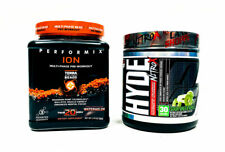 Performix ION Watermelon + ProSupps Mr Hyde NitroX Apple PRE WORKOUT COMBO STACK