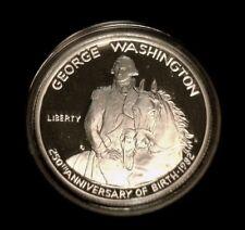1982 George Washington 50 Cent Proof - U. S. Mint Box and COA