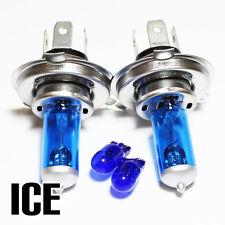 RENAULT CLIO MK2 1.2 H4 501 55 W bleu glace xénon HID main / dip / côté ampoules set