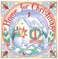 Jim Shore Panels- Large Home for Christmas FREE US SHIPPING