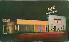 Bank of Melbourne and Trust Company Melbourne FL Postcard
