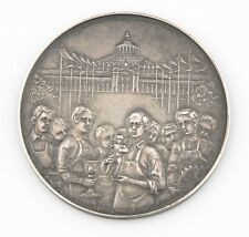 1904 Austria Viennese Apprentice Exposition Silver Medal AU-UNC Eugen Schott