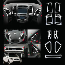 Chrome Interior Molding Trim Cover for 07-09 Santa Fe