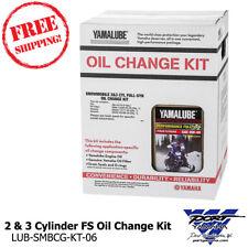 Yamaha 2 & 3 Cylinder Full-Syn 0W40 Snowmobile Oil Change Kit LUB-SMBCG-KT-06