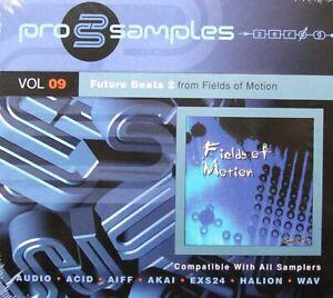 Best Service pro samples Vol. 9 2CD Future Beats 2 Aus Fields Of Motion NEU OVP