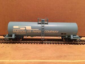 HO Atlas Simpson Lee Paper 17,360 Gallon Tank Car ACFX #86202 NS CSX BNSF UP KCS