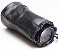 "Vintage Soft Lens Case Pouch 6"" For Canon Nikon Tokina Olympus Pentax Soligor"