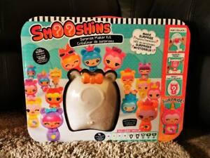 Smooshins - Surprise maker kit + 3 Surprise Character Kit - Purple, Pink and Blu