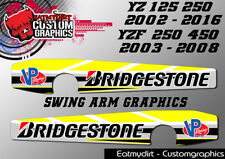 FOR YAMAHA YZ 125 250 02-16 YZF 03-08 FULL SWING ARM GRAPHICS STICKERS DECALS MX