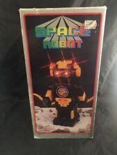 Vintage Space Robot Moving Lights Sound Working Model R Battery Operated