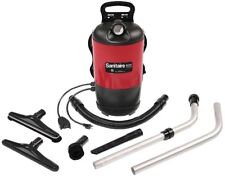 Corded Backpack Vacuum Cleaner HEPA Filter Adjustable Straps Bare Floor Cleaning