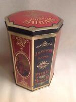J R Anthorn Unity Mills N. Y. Pure Sugar Tin Case replica Harry's grocery