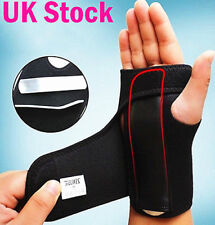 NSH Wrist Hand Brace Support Carpal Tunnel Splint Arthritis Sprain Stabilizer
