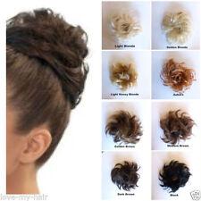 Accessoires de coiffure noires en synthétique pour femme