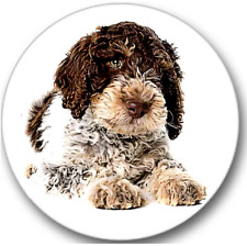 Lagotto Romagnolo Dog Sticker Seals No.447, vet stickers, dog groomer stickers