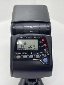 O740 Nikon SB-50DX speedlight speedlite Flash - works very well