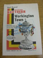 28/02/1982 Bradford Northern v Workington Town [Challenge Cup] Rugby League Offi