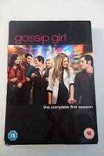 Gossip girl, Staffel/Season 1, complete, komplett, 5 DVD´s, UK,englisch, english
