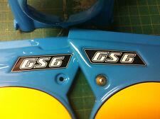 KTM GS6 adesivi fiancatine  - adesivi/adhesives/stickers/decal