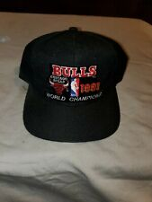 Chicago Bulls Hat Cap 1991 NBA Finals Sports Specialties Vintage Snapback Champs