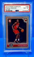 2016 Pascal Siakam Rookie Complete Silver #286 PSA 8 *208