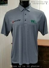 Greg Norman PRO -Charley Hoffman Waste Management- Golf Tour Polo Shirt M *Note