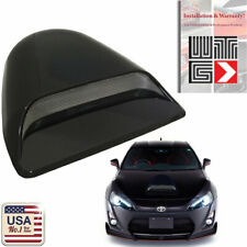 JDM Universal Black ABS Plastic Racing Air Flow Vent Turbo Hood Scoop Cover 1a