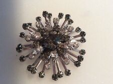 Rhinestone Brooch Stunning Crystal