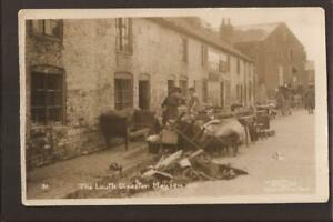 The Louth Disaster. May 1920. Furniture in the Street. Smashing W.Benton RP.