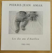 Amar, Pierre-Jean petit Livre livret les dix ans d' Aurelien 1980-1990