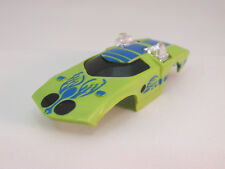 AURORA AFX MODEL MOTORING #5812 GREEN/BLUE FLY MOBILE SHELL ~ EXC COND!