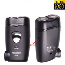 HD 1920*1080P Black Electric Shaver Razor Spy Camera Security Pinhole Camcorder