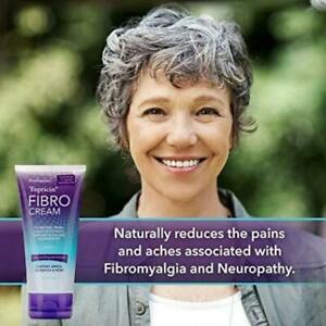 Topricin FIBRO Pain Relieving Cream (6 oz) - Rapid Relief For Fibromyalgia