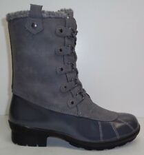 Aerosoles Size 7 BARRICADE Grey Combo 061 Memory Foam Boots New Womens Shoes