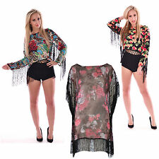 Unbranded Crew Neck Floral Jumpers & Cardigans for Women