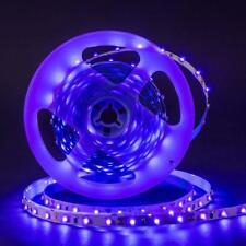 UV Schwarzlicht LED Streifen 5m SMD 3528 UV Licht Lichterkette Strip lila IP20