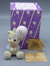 "Precious Moments ""Have A Beary Special Birthday"" B-0104 1989 Membership Bear"