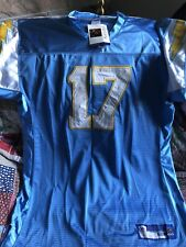 San Diego Chargers Philip Rivers Authentic Stitched Reebok Jersey. New With Tags