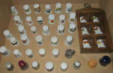 Fingerhut Konvolut Porzellan Fingerhüte Hummel etc. 43 Stck.