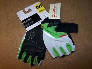 Mavic  Large Men's HC Hot Ride Ergo Perfomance Pittards Palm Cycling Gloves