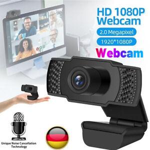 1080P HD Webcam Kamera USB 2.0 3.0 Mit Mikrofon für Computer PC Laptop Notebook