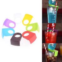 2x Bier Flaschenhalter Clip Cocktail Glasschale Becher Clip Tool Bar Club Ver *O