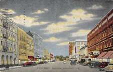 Meridian Mississippi Fifth Street Scene Historic Bldgs Antique Postcard K36449